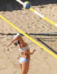 Beach Volleyball Sport Olympic Games