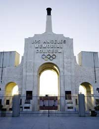 Olympics Return To The Los Angeles Memorial Coliseum